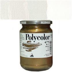 Краска акриловая Поликолор белила платиновые