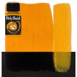 """Краска акриловая """"Polyfluid"""" / Желтый прочный темный"""