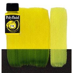 """Краска акриловая """"Polyfluid"""" / Желтый прочный лимонный"""