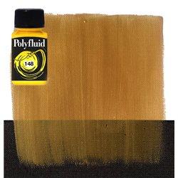 """Краска акриловая """"Polyfluid"""" / Богатое золото"""