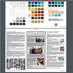 Выкраска Печатные краски Gamblin