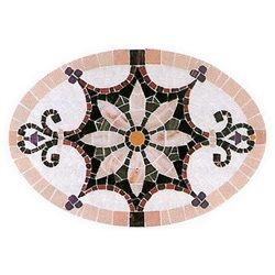 """План рисунка для набора мозаики """"Поднос1"""" (420х320х60 мм)"""