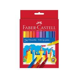 Фломастеры в наборе Замок Faber Castell 24 цв.