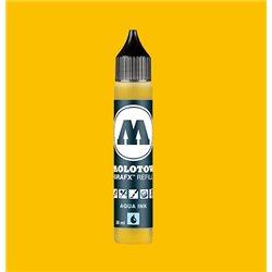 Чернила Molotow Aqua Ink 001 Желтый основной, 30 мл