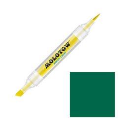 Маркер Molotow Aqua Twin 015 Зеленый темный