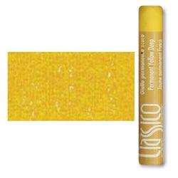 Масляная пастель классико Желтый прочный темный