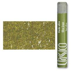 Масляная пастель классико Зеленый оливковый