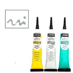 Рельеф для красок по стеклу Pebeo Vitrea 160/Олово