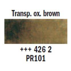 "Краска аквар.""Рембрандт"" / оксид коричневый прозрач."