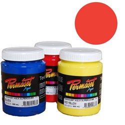 Краска для шелкографической печати s/c Permaset / Красный яркий покрывной