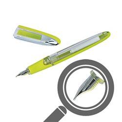 Перьевая ручка AIR корпус лайм/ прозрачный, перо М