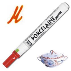 Тонкий маркер по керамике Pebeo Porcelaine (печной сушки 150*С )/агат