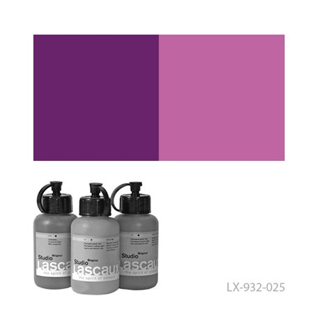Краска акриловая Lascaux Studio Original Пурпурно-красный