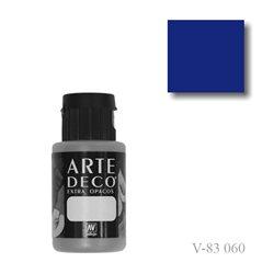 Ультра синий темный 060 ArteDeco, акриловая декоративная краска