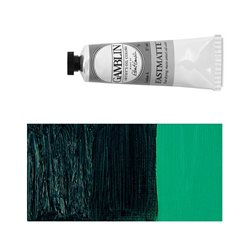 Алкидно-масляная краска Gamblin FM Зеленый фтало, матовая, быстросохнущая