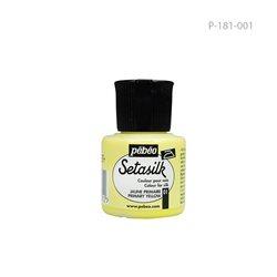 """Растекающаяся краска по светл. тканям """" SETASILK """" желтый /45мл"""