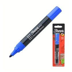 Перманентный маркер Sharpie M15, синий - в блистере
