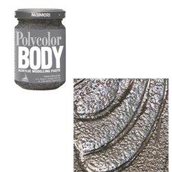 Акриловая моделирующая паста серебряная