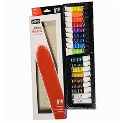 Набор масл.красок Studio XL NEW, 18туб х12мл