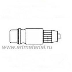 Штекер быстроразъем. Д.12 с гайкой под шланг 4x6мм (4/1)
