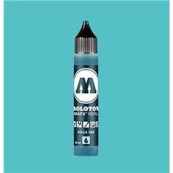 Чернила Molotow Aqua Ink 013 Турецкий голубой, 30 мл