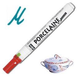 Тонкий маркер по керамике Pebeo Porcelaine (печной сушки 150*С )/ярко-синий