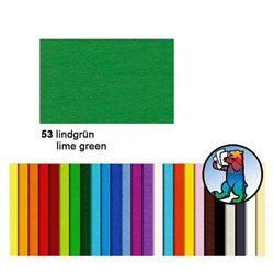 Картон цветной 70*100 Лайм зеленый / 300 гр/м