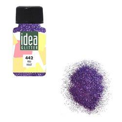 Глиттер фиолетовый, 60 мл