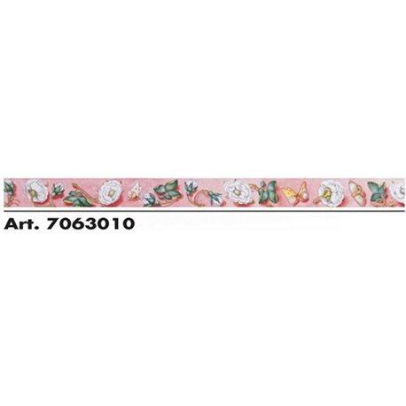 Орнамент DIPINTO - Розы и бабочки. 10м х h5 см