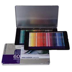 Набор цветных карндашей Van Gogh 60шт. мет. упаковка
