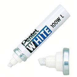 Маркер перманентный White скошенный наконечник белый 5,5/6,5 мм