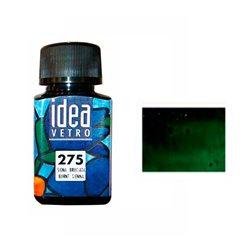 Краска лаковая по стеклу Idea Vetro/Зеленый желчный