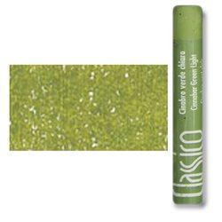 Масляная пастель классико Киноварь зеленая светлая