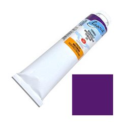 """Краска масляная Кобальт фиолетовый темный А """"Ладога"""" 120мл."""