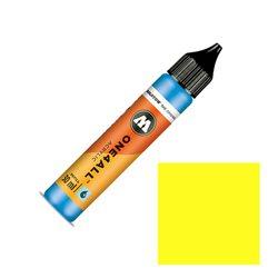 Заправка Molotow One4ALL 30 мл. Неоновый жёлтый флуоресцентный