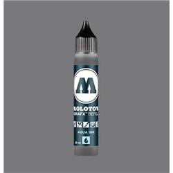 Чернила Molotow Aqua Ink 025 Нейтральный серый II, 30 мл
