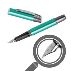 Перьевая ручка Campus зеленый металлик, перо М
