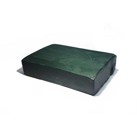 Пластилин скульптурный 1 кг оливковый твердый