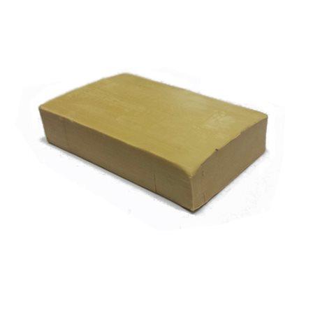 Пластилин скульптурный 0,5 кг телесный твердый