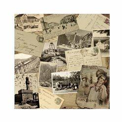 """Бумага для Scrapbooking, 30,5х30,5 """" Воспоминание"""" мотив 96"""