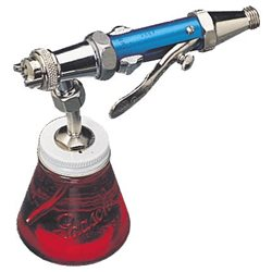 Краскораспылитель Paasche AUTF (клавишный/плоский факел/сифонная стекл. банка 88мл/ сопло 0,7мм)