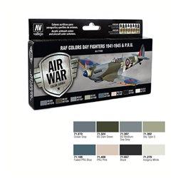 Набор Model Air - WWII RAF DAY EUROPEN (8цв.)