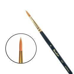 Кисть синтетика круглая №4 удл.ручка Roubloff 1317