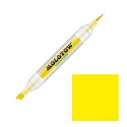 Маркер Molotow Aqua Twin 001 Желтый основной