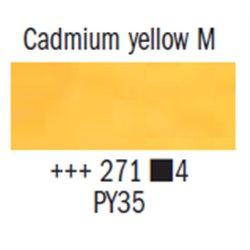 Краска масляная Rembrandt туба 40мл №271 Кадмий желтый средний