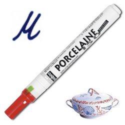 Тонкий маркер по керамике Pebeo Porcelaine (печной сушки 150*С )/лазурный