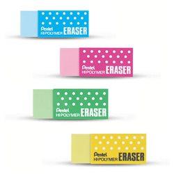 Ластик Hi-Polymer Eraser, 43х17.5х11.5 мм, цвет в ассортименте