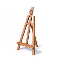 Мольберт деревянный настольный (h -0,54 м, w-0,27 м, размер полотна 0,4*0,4 м)