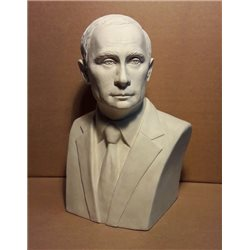 Бюст Путина В.В. (автор Марьяновская О.В.)