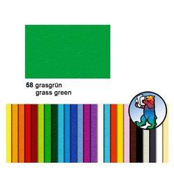 Картон цветной 70*100 Травенной зеленый / 300 гр/м